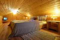 Quadruple room with a bedroom on the attic floor